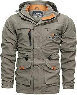 Donne addensare Fleece caldo cappotto invernale Giacca con cappuccio Parka Cappotto-Outwear JD