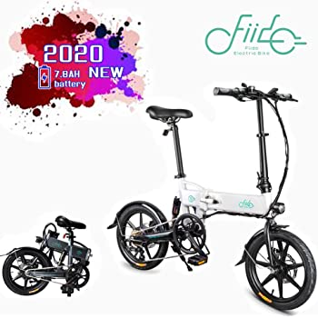 FIIDO D2s Bicicleta Eléctrica Plegable, 7.8Ah 36V EBike 250W con ...