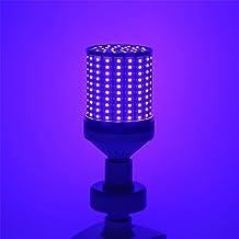 80 W UV-sterilisatie LED-lamp, E27 UVC-timing desinfectielamp Maïslamp, 395 nm ultraviolet licht bacteriedodende lamp met ...
