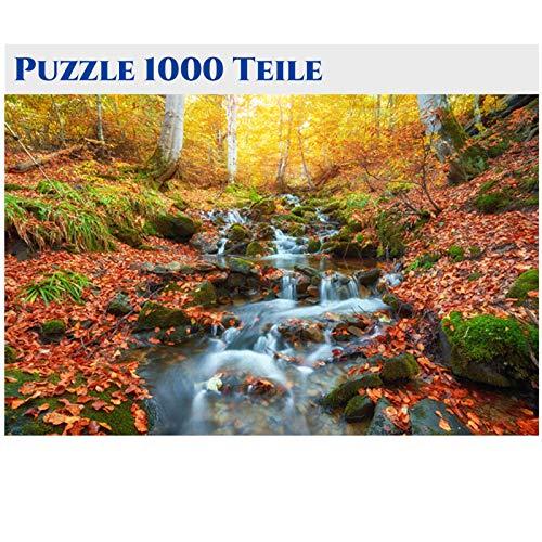 Puzzle 1000 Teile,Puzzle Erwachsene Anspruchsvoll,Geschicklichkeitsspiel für Die Ganze Familie, Puzzle Holz Wooden Puzzle für Puzzle Kinder Mit Architekturmuster, Erwachsenenpuzzle ab 8 Jahren-6