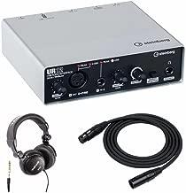steinberg ur22 headphone output