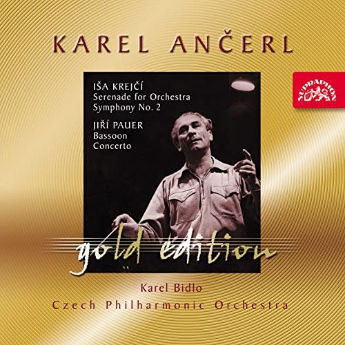 Karel Bidlo, Karel Ančerl, Czech Philharmonic