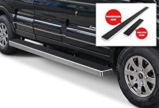 APS iBoard (Silver Powder Coated 6 inches) Running Boards Nerf Bars Side Steps Step Rails Compatible with 2015-2020 Ford Transit Full Size Van 3-Door