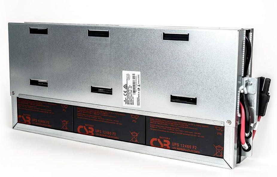 Liebert GXT4 Hot Swap Internal 9 Ah, 72V, Lead Acid Battery for Liebert GXT4-3000RT120 UPS, GXT4-3000RT230 UPS, and GXT4-3000RT208 Uninterruptible Power Supply Systems (GXT4-9A72BATKIT)