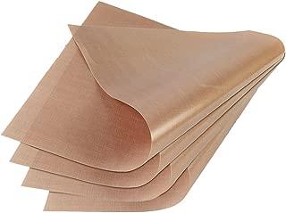 GOOMAND クッキングシート オーブンペーパー テフロン 加工 耐熱 耐久 水洗い可能 繰り返し使える 6枚セット