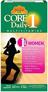 Country Life, Core Daily 1 Women's, 60 Count