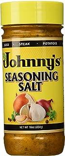 Johnny's Seasoning Salt, Chef Blended, 16 oz (2)