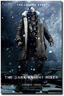 The Dark Knight Rises Bane Movie Silk Poster Wall Art Home Decor Gifts for Lovers Painting