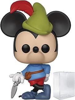 Disney: Mickey's 90th Anniversary - Brave Little Tailor Funko Pop! Vinyl Figure (Includes Compatible Pop Box Protector Case)
