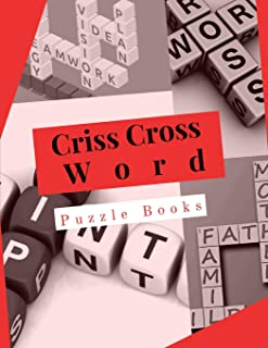 Criss Cross Word Puzzle Books: Puzzle Book  Brain Games for Every Day, Light & Fun! Easy Puzzles and Brain Games Includes Word Searches Find the   Differences.