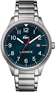 Lacoste Lacoste Continental Men's Blue Dial STaINLESS STEEL Band Watch - 2011022