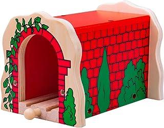 comprar comparacion Bigjigs - Túnel de ladrillo, Color Rojo (biBJT135)