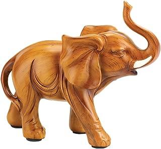 Gifts & Decor 57071600 Proud Elephant Figurine, Brown