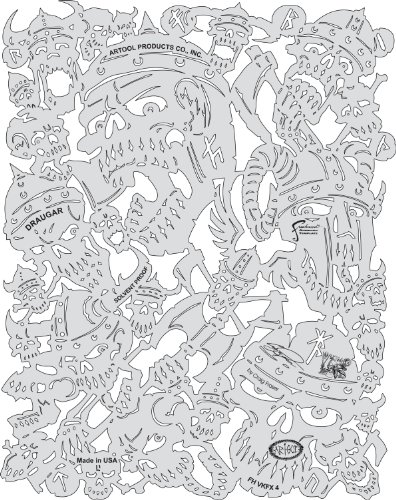 artool- VIKING FX DRAUGAR - Schablone 200 501