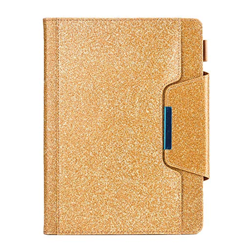 Applicable to iPad Pro 11 inch glitter flip cover bracket card flat leather case-Gold 10.5 / Air3 2019