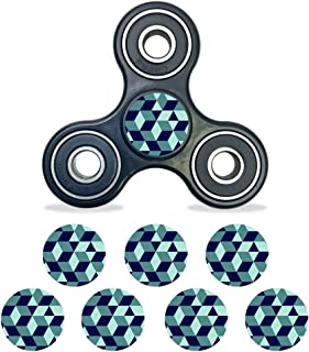 MightySkins Vinyl Decal Skin Compatible with Fidget Spinner Center Cap – Geo Tile | Protective Sticker Wrap for Your Fidget Toy Bearing Cap | Easy to Apply Cover