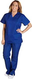 Women's Designer Mock Wrap with Flared Pant Scrub Set (11 Colors, XS-3X)