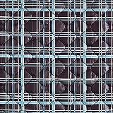 Fabulous Fabrics Steppstoff Karo Druck – grau/hellblau