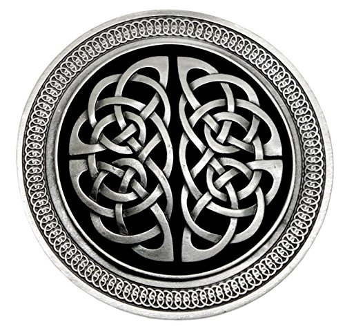 Celtic Knot Belt Buckle - Circular Detailed Design - Ultimate Buckles Brand Product (Dragon Designs)