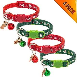 Best cat christmas collars Reviews