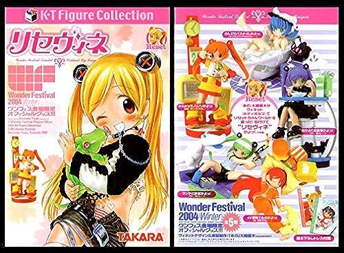 Wonder Festival limited Rice Vinegar secret input set of 6 (japan import)
