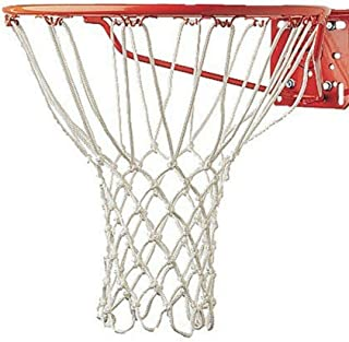 MB-THISTAR White Replacement Basketball Net Nylon Weather Hoop Goal Standard Rim Outdoor