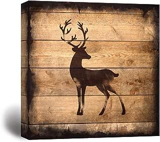 Best rustic deer silhouette Reviews