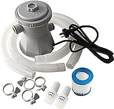 Conjunto de bomba de filtro de piscina 300 galones por encima de la bomba de agua eléctrica para bañera de hidromasaje de piscina Filtro de circulación Herramienta de filtro