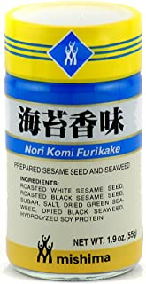 Nori Komi Furikake (Prepared Sesame Seed & Seaweed) - 1.9oz (Pack of 1)