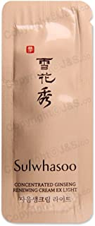 30pcs X Sulwhasoo NEW Concentrated Ginseng Renewing Cream EX Light 1ml
