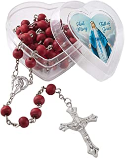 Scented Rosary Our Lady of Grace Rose, 18 1/2 Inch