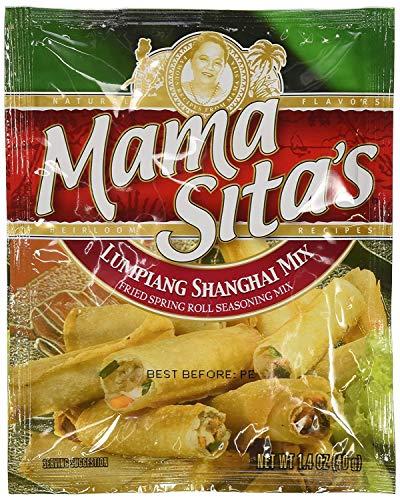 Mama Sitas Lumpiang Shanghai Mix (Fried Spring Roll Seasoning Mix) 2 Pack