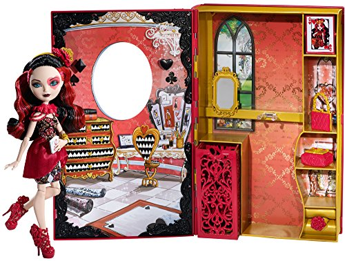 Ever After High Lizzie Hearts Spring Unsprung Book Playset