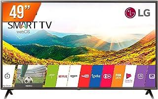 Smart Tv 4k Lg 49uk6310, 49, Ultra Hd, Quad-core, 3 Hdmi, 2 Usb, Wi-fi Integrado