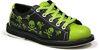 Pyramid Youth Skull Green/Black Bowling Shoes