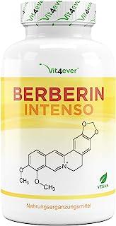Berberin HCL extract - 120 capsules van 500 mg - natuurlijke berine + zwart peperextract - getest in laboratorium - hoge d...
