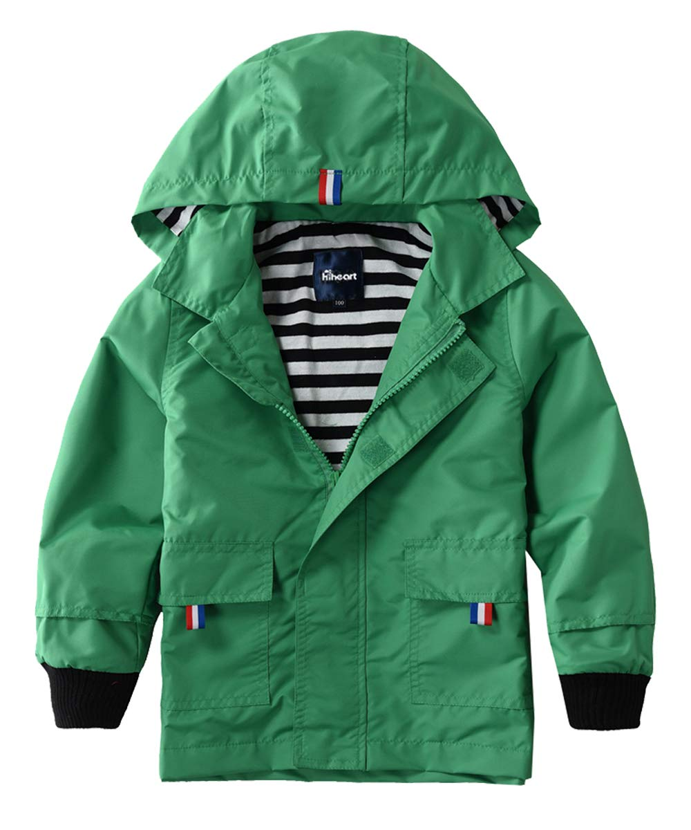 Hiheart Waterproof Hooded Jackets Cotton