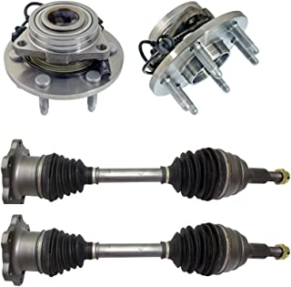 for 2001-2007 Chevy Silverado//Sierra 1500 CRS N95197 New Prop shaft//Drive Shaft Assembly Front about 24 7//8 Length 2007 GMC Sierra 1500 Classic
