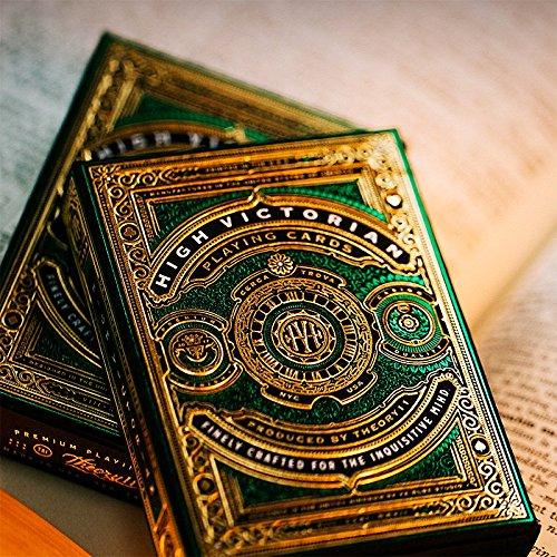 SOLOMAGIA Mazzo di Carte High Victorian Playing Cards by Theory11 - Mazzi di Carte da Gioco - Giochi di Magia