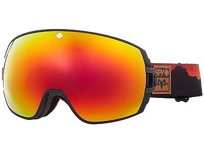 Spy Optic Legacy (Spy + Wiley Miller Hd Plus Bronze w/ Red Spectra Mirror + Hd P) Snow Goggles