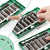 60 en 1 Destornillador magnético Conjunto electrónico de precisión Torx Destornillador Kit multifunción Ensamble Teléfono Tablet PC Herramientas de reparación