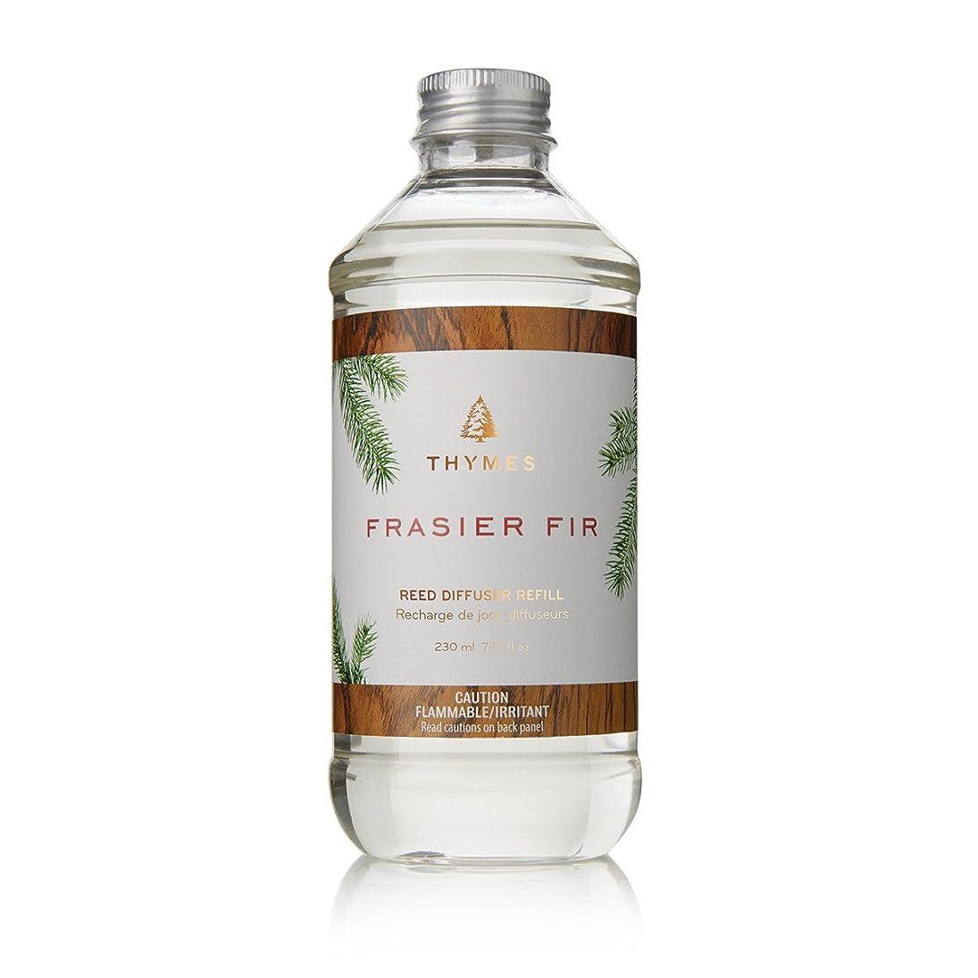 ファーザーファージュ申し立てられた弱めるThymes Fraiser Fir Reed Diffuser Oil Refill, 7.75 fl oz (230ml) by Thymes