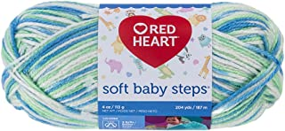 Best red heart soft baby steps yarn puppy print Reviews