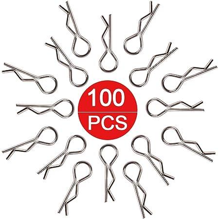 Perno di aggancio della scocca 100Pz Perno di aggancio della scocca per HSP Redcat HPI RC 1//10 Modello di ricambio per auto