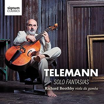 Telemann: Twelve Fantasias for Solo Viola da Gamba