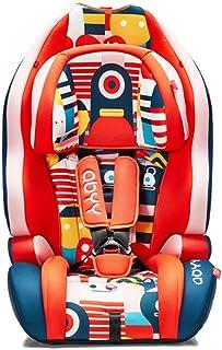 Ruilin Asiento de Seguridad para niños de automóvil: el Asiento portátil Simple para automóvil Puede Sentarse reclinado, Rueda Dentada de Asiento de Seguridad para automóvil