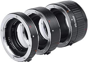 Viltrox Metal Mount Auto Focus AF Macro Extension Tube Ring Set 12mm,20mm,36mm for Canon EF EF-S Lens DSLR Camera 760D 700D 80D 70D 5DII 5DIII 1300D