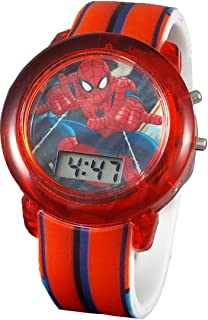 Marvel Spiderman Kid's Digital Light Up Watch