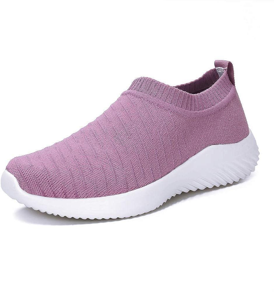 Fashion Walking Shoes for Women Comfortable on Dallas Mall Slip Sock Lightw Sneakers