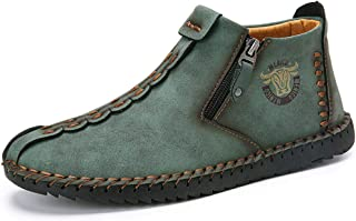 mens soft leather chukka boots